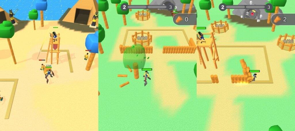 Lumbercraft - сражайтесь с монстрами