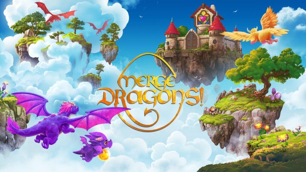 Геймплей игры Merge Dragons! на андроид