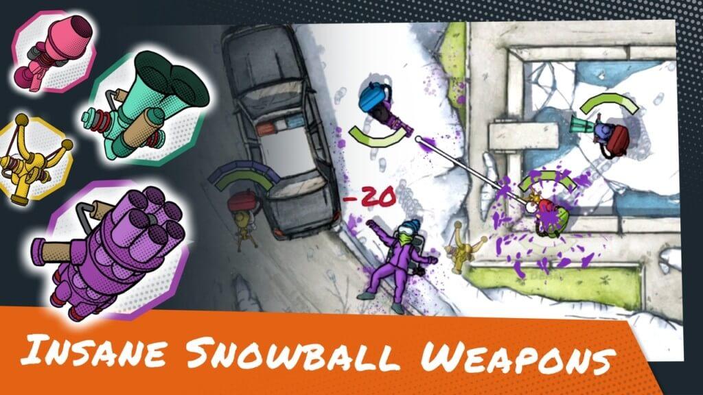 Режимы игры в Snowsted Royale, в которые можно играть
