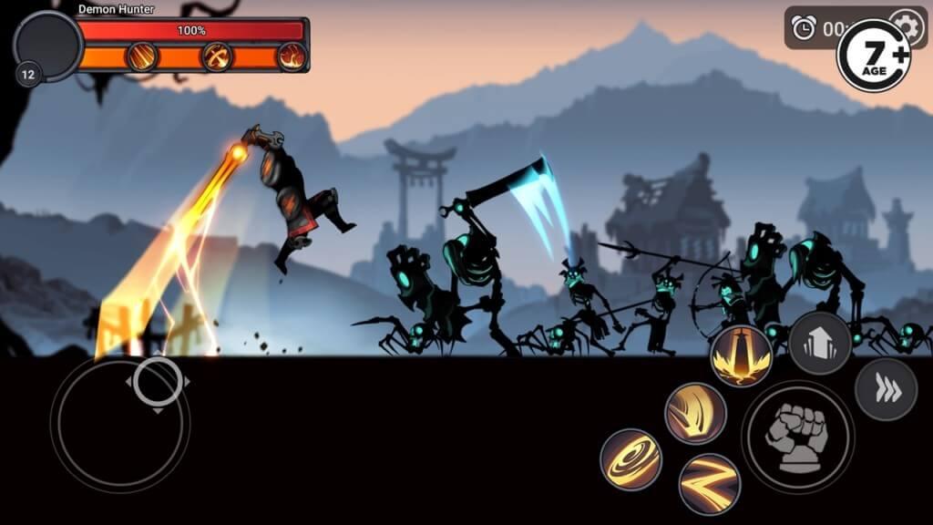Подробнее об игре Stickman Master League Of Shadow