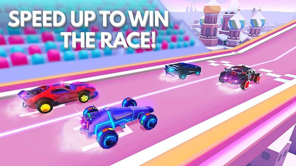 Геймплей игры SUP Multiplayer Racing