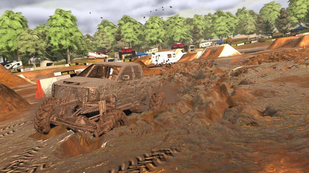 Геймплей игры Trucks Off Road