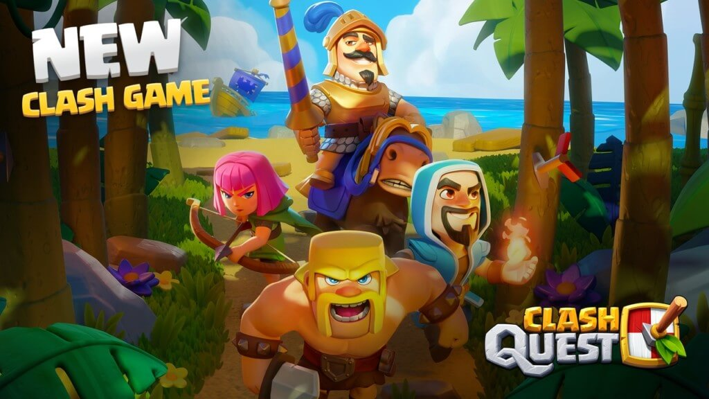 Про геймплей в Clash Quest