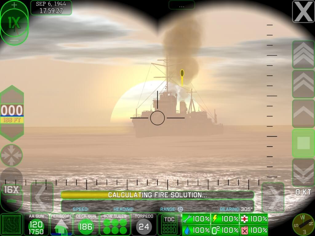 Механика игры Crash Dive 2 на андроид