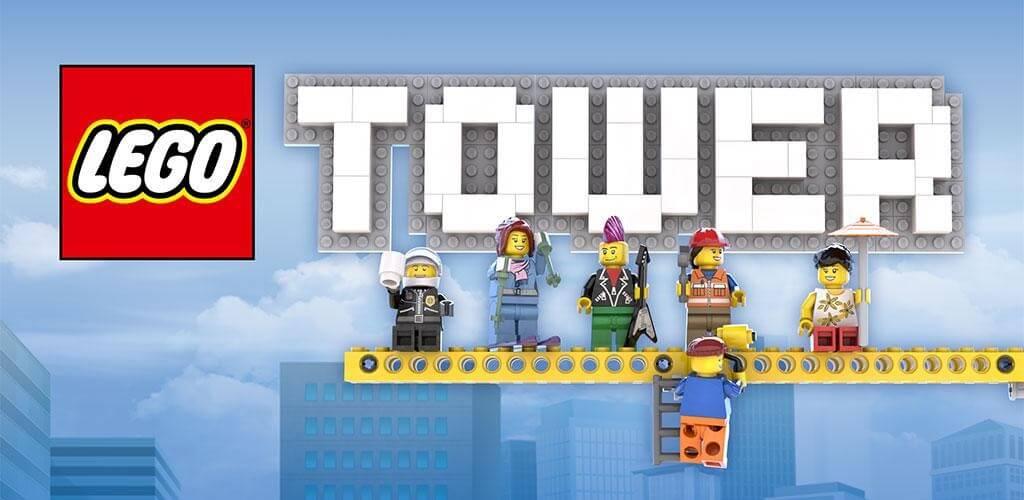 LEGO Tower - отличная детская игра про строительство