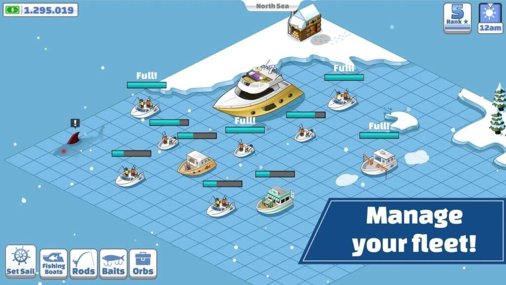 Nautical Life - детально смоделирован игровой процесс