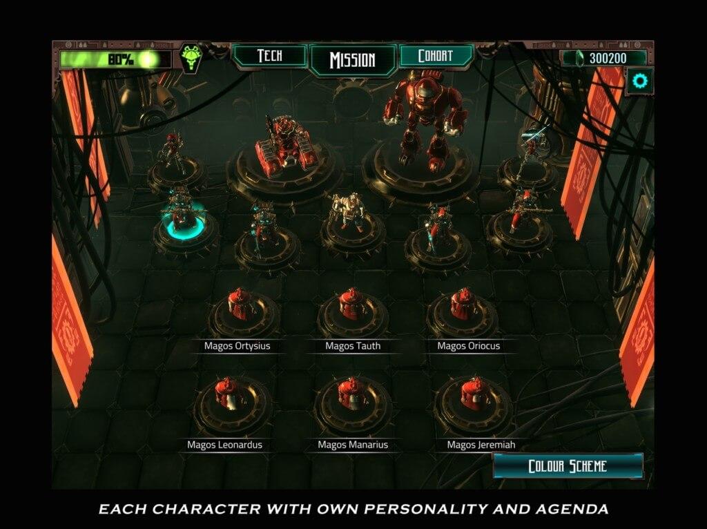 Про сюжет в Warhammer 40,000: Mechanicus