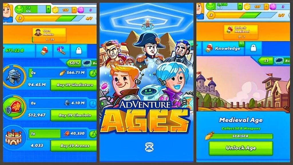 Подробнее об игре AdVenture Ages