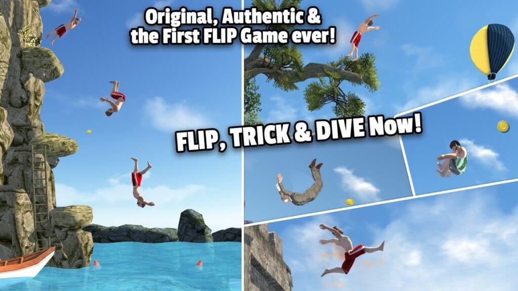 Подробнее об игре Flip Diving