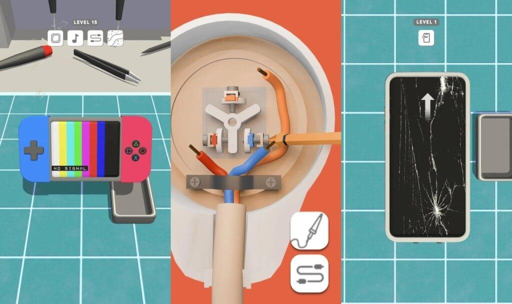Геймплей в игре Мастер 3D-ремонта / Repair Master 3D