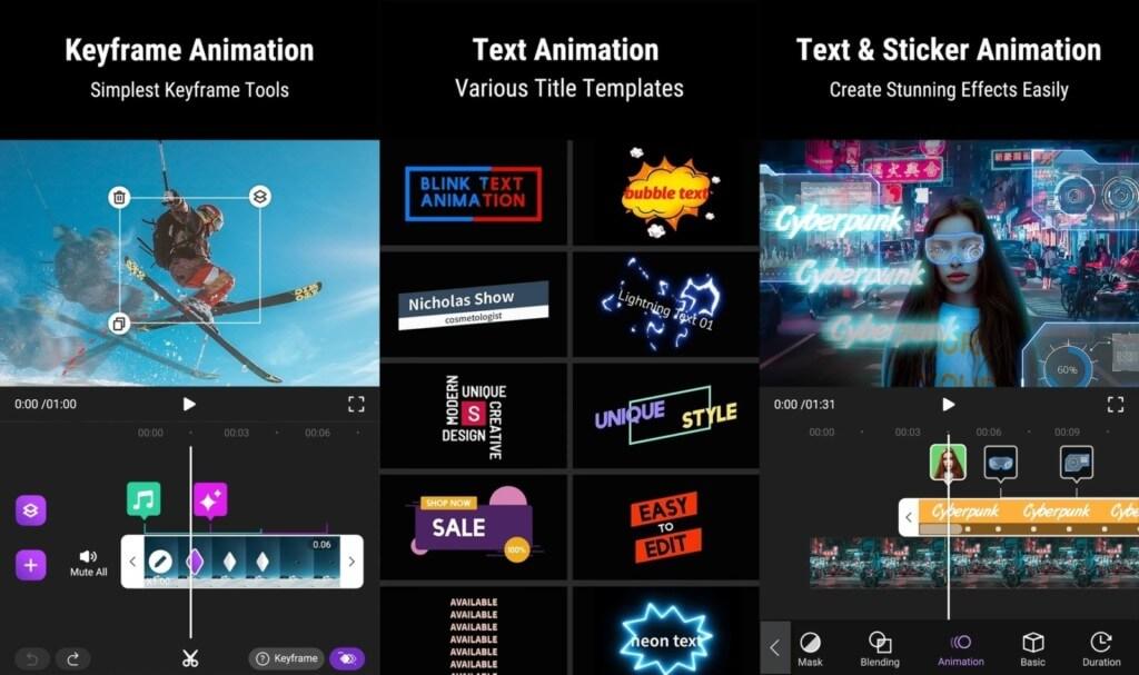Motion Ninja - редактируйте видео на своих Android телефонах