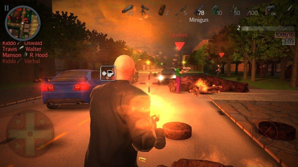 Геймплей в игре Payback 2