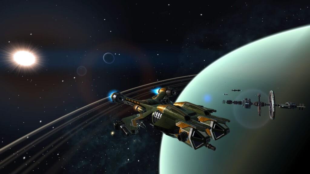 Механика игры Space Commander War and Trade