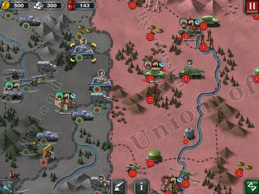 Геймплей в игре World Conqueror 3