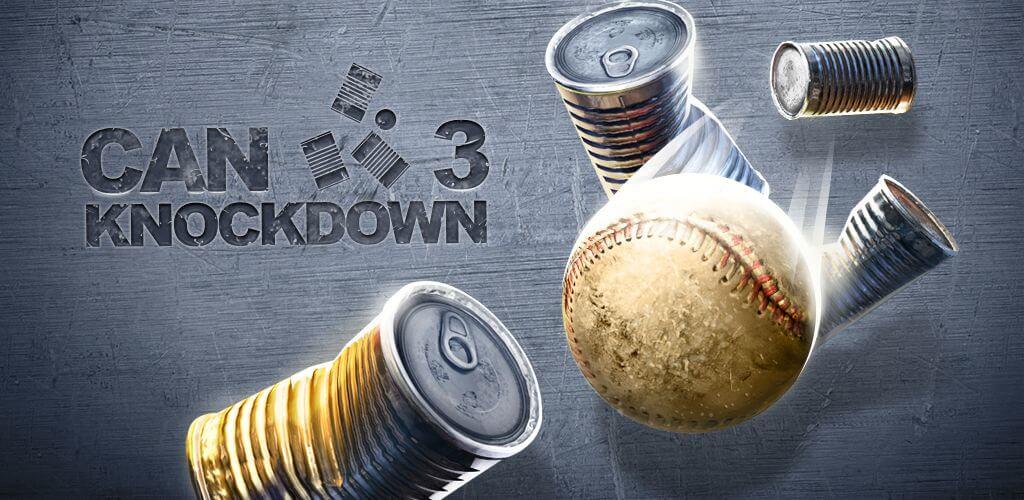 Геймплей в игре Can Knockdown 3