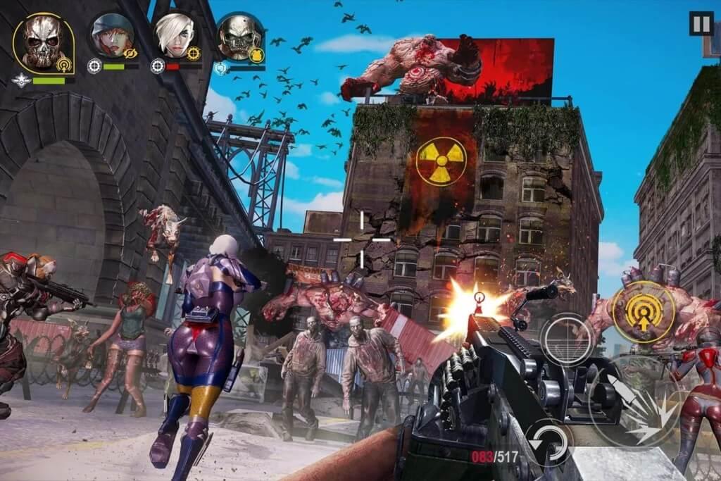 DEAD WARFARE - геймплей не дает остановиться