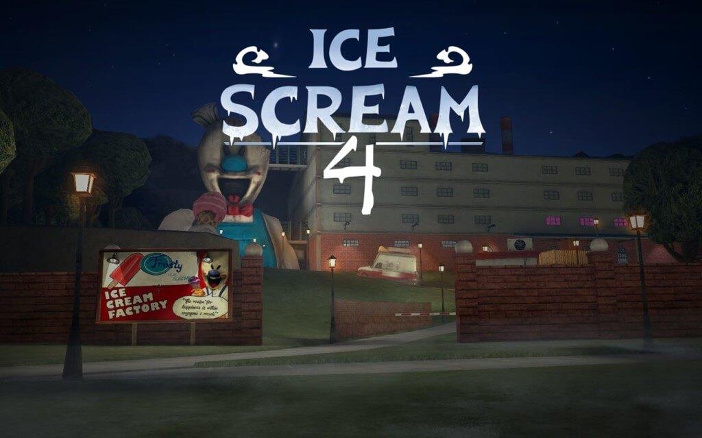 Ice Scream 4: Фабрика Рода - исследуйте фабрику мороженого