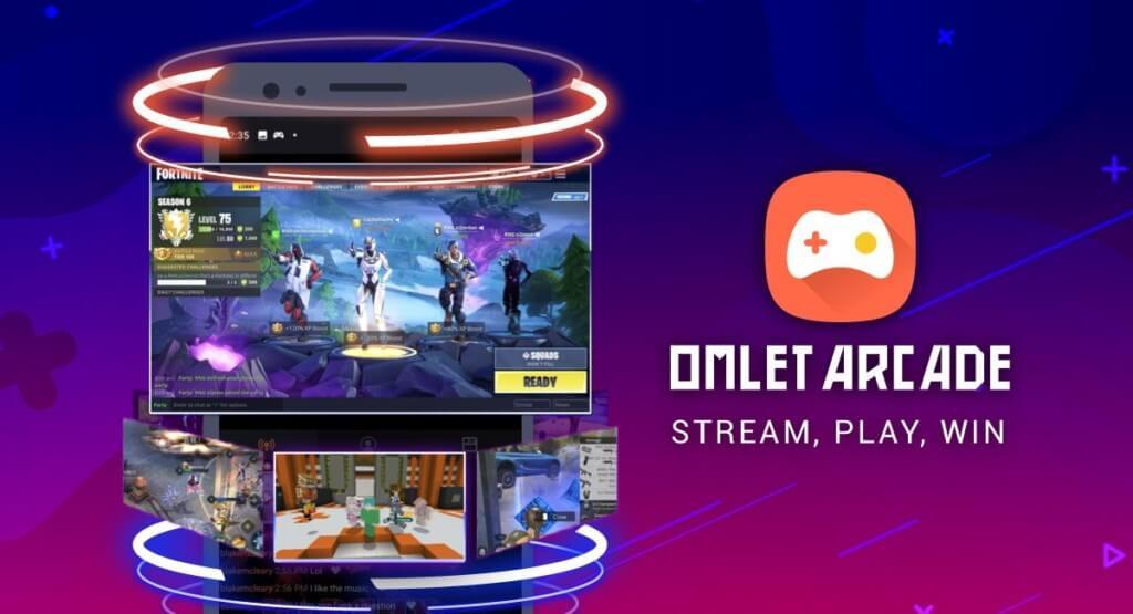Подробнее о приложении Omlet Arcade