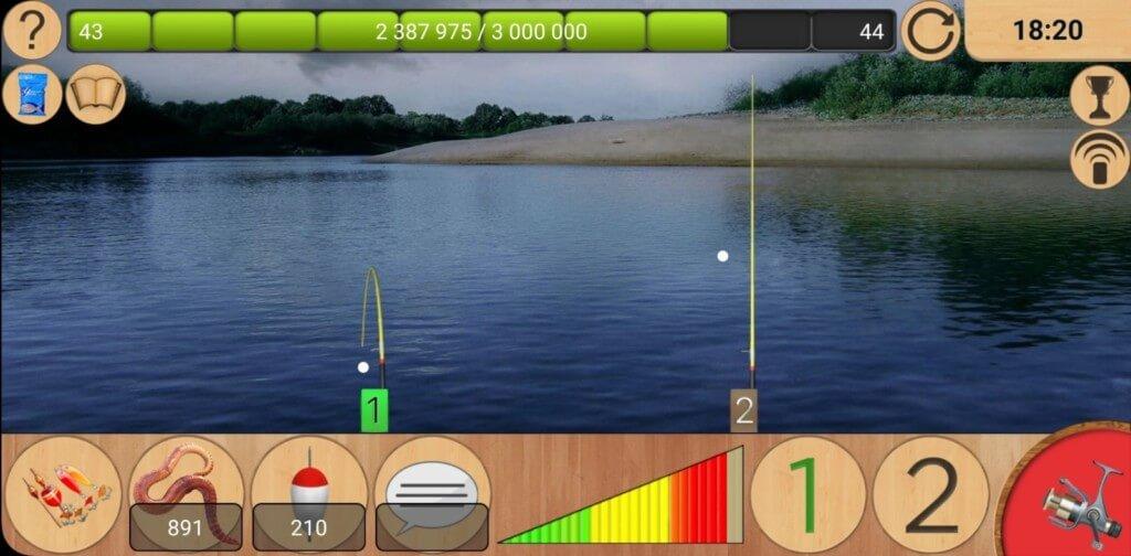 Реальная Рыбалка - самый профессиональный симулятор рыбалки