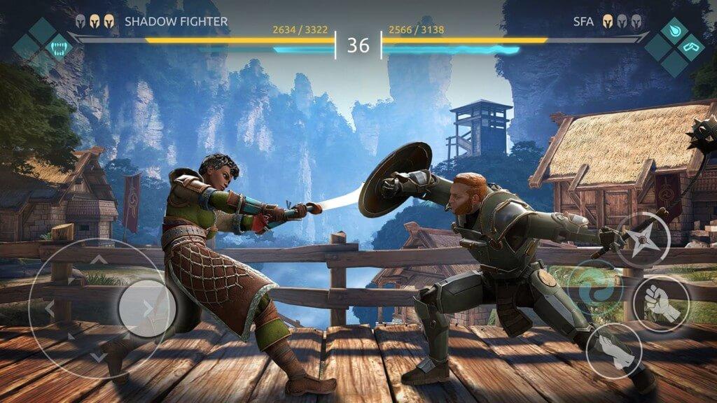 Подробнее об игре Shadow Fight Arena