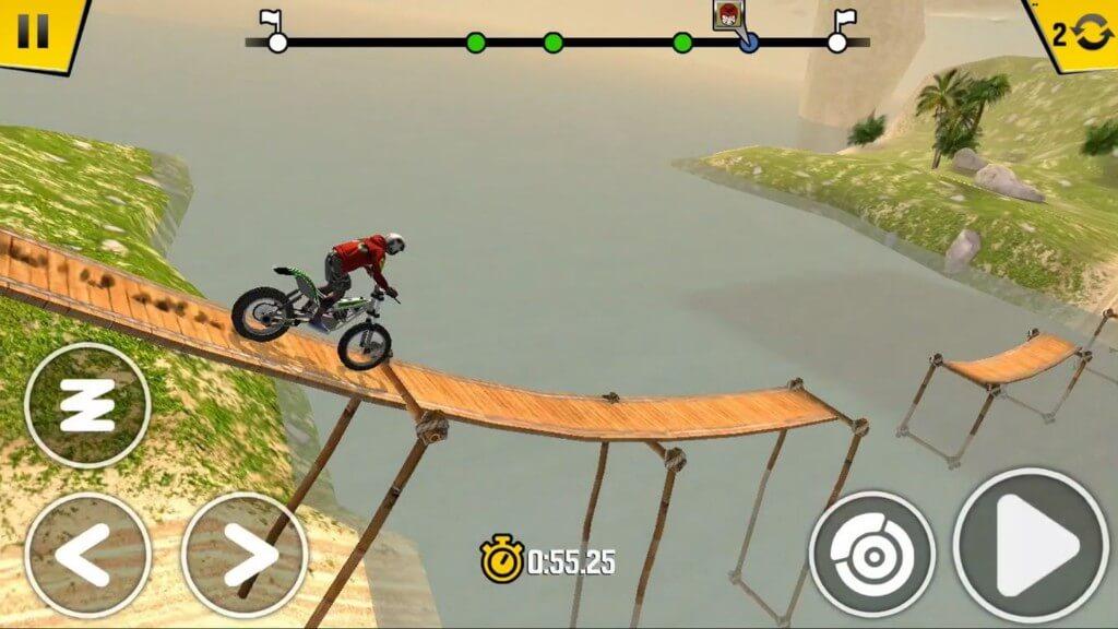 Что отличает игру Trial Xtreme 4 от конкурентов