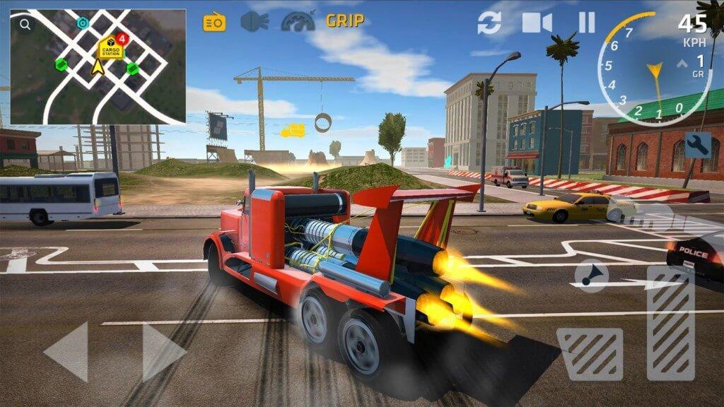 Подробнее об игре Ultimate Truck Simulator