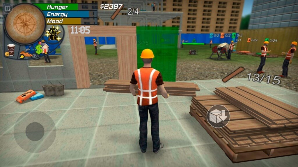 Сюжет и развитие в игре Big City Life : Simulator
