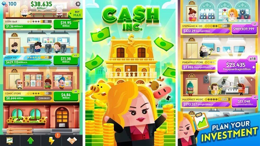 Cash, Inc. - простой, но увлекательный игровой процесс