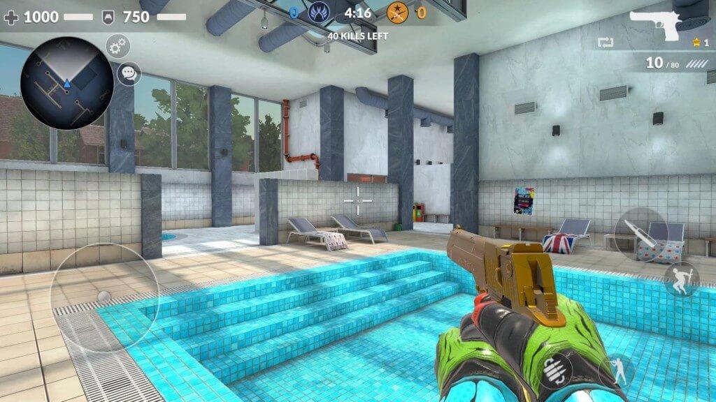 Простое управление в игре Critical Strike CS