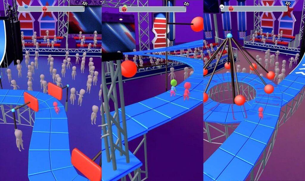 Геймплей игры Epic Race 3D