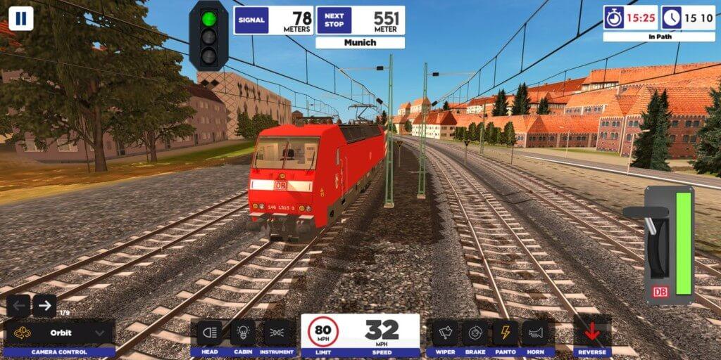 Euro Train Simulator 2 - путешествуйте по Европе