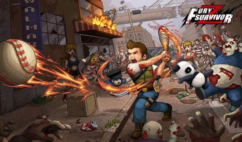 Геймплей игры Fury Survivor: Pixel Z