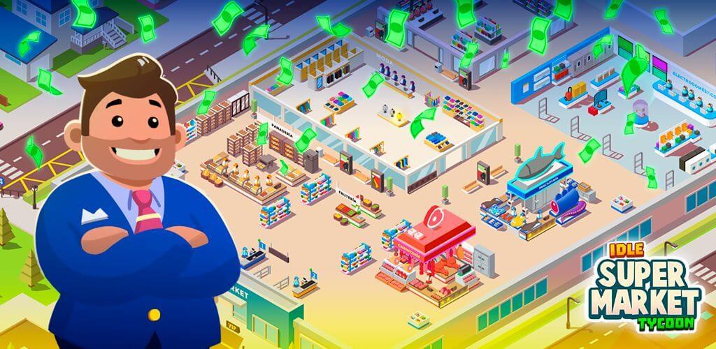 О Idle Supermarket Tycoon