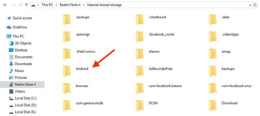 Скриншот Как установить APK-игры с OBB (кеш-файлом) на Android