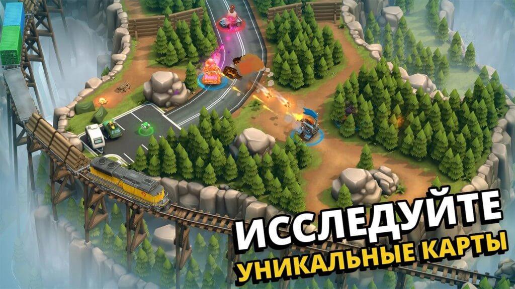 Гейплей игры Pico Tanks / Пико-танки