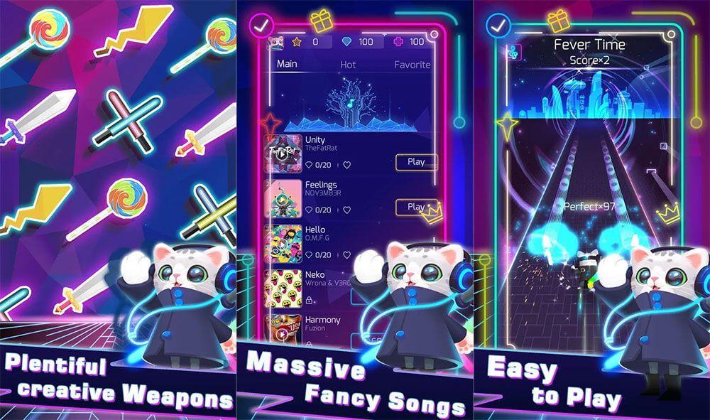 Sonic Cat - новая ритм-игра на Android