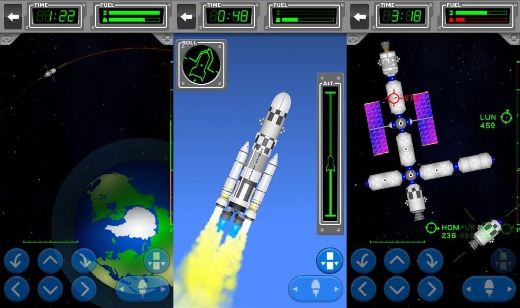 Множество миссий в игре Space Agency на андроид