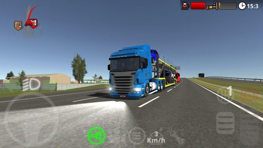 Геймплей игры The Road Driver