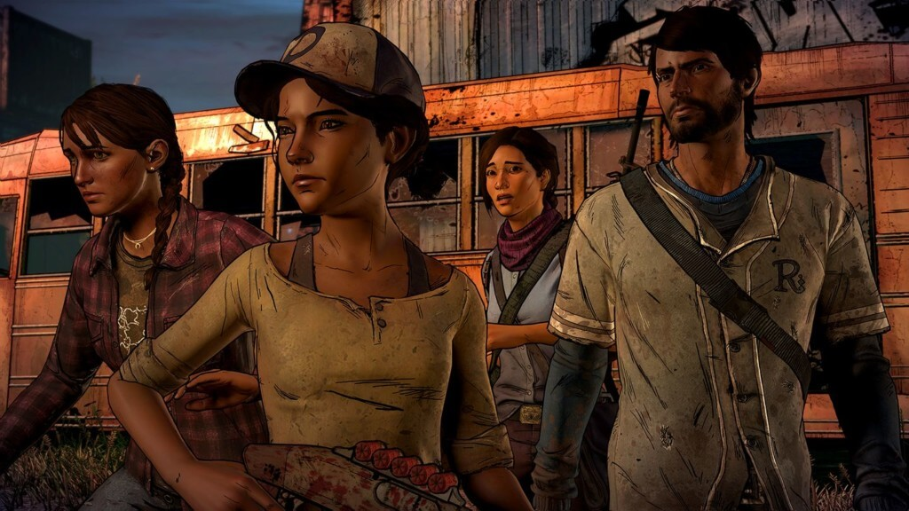 Механика игры The Walking Dead: A New Frontier