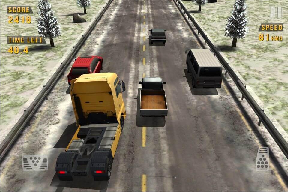 Traffic Racer на андроид - бесконечная гоночная игра