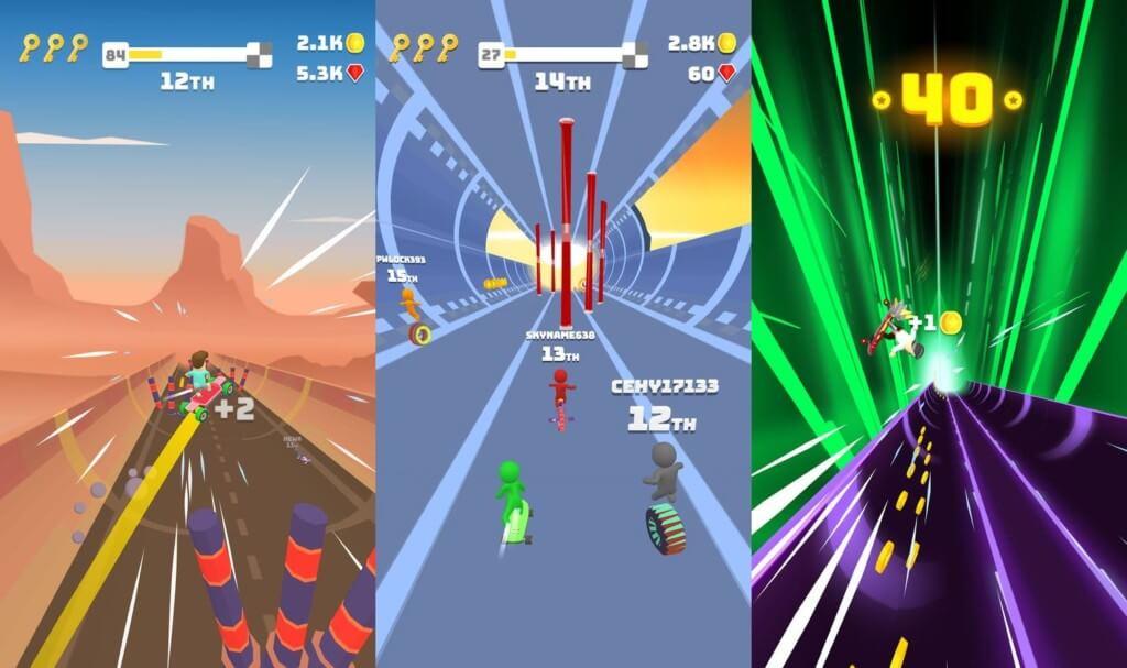 Turbo Stars - отличный геймплей