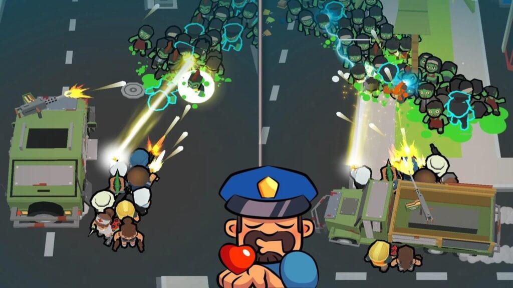 Геймплей игры Zombie Haters