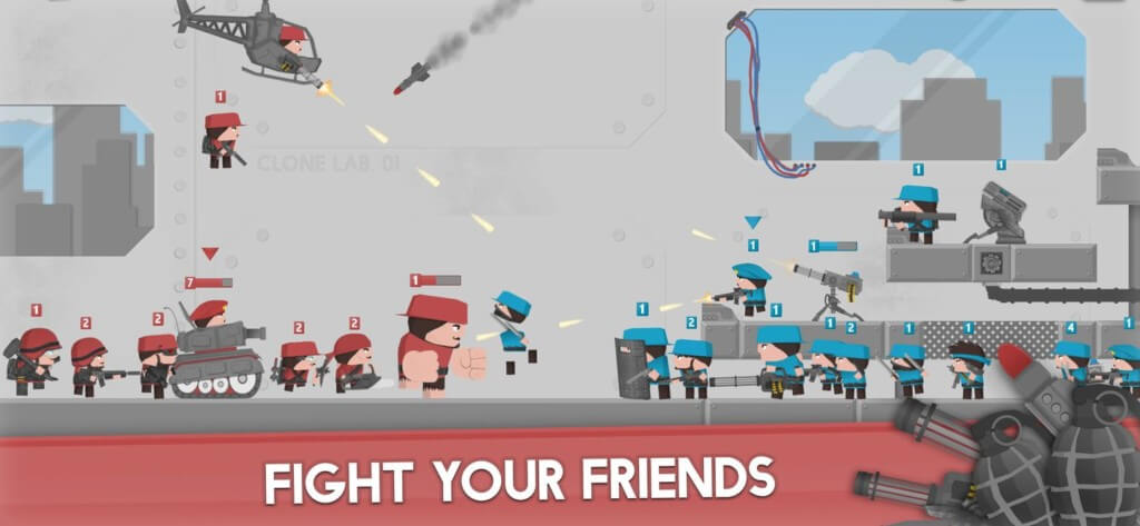 Подробнее об игре Clone Armies