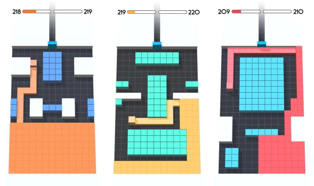 Подробнее об игре Color Fill 3D