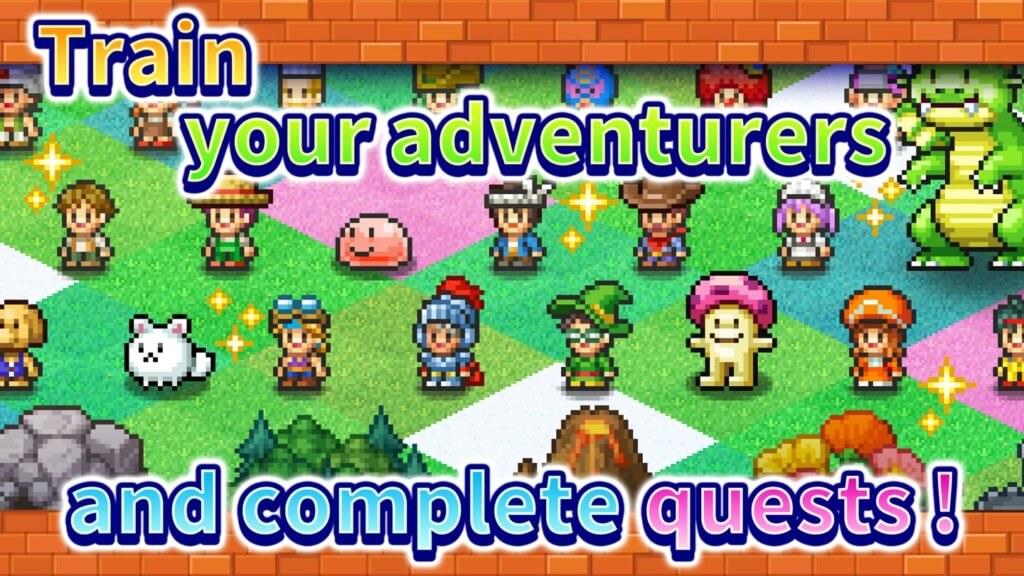 Много разнообразных персонажей в игре Dungeon Village 2
