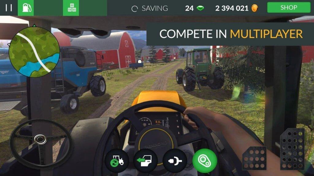 Farming PRO 3 - станьте владельцем фермы и сопровождайте других