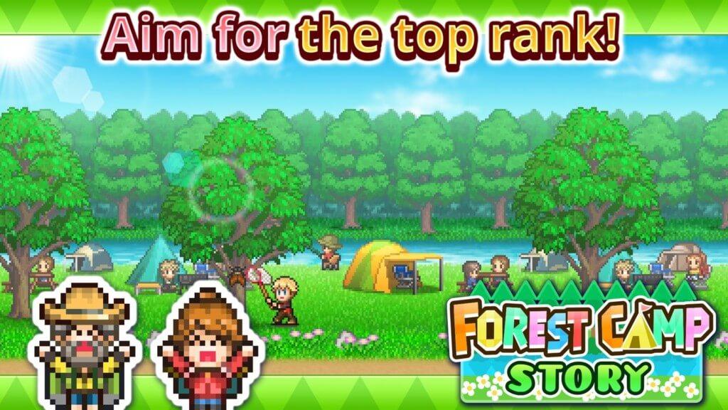 Forest Camp Story - построй свою карьеру в лесу