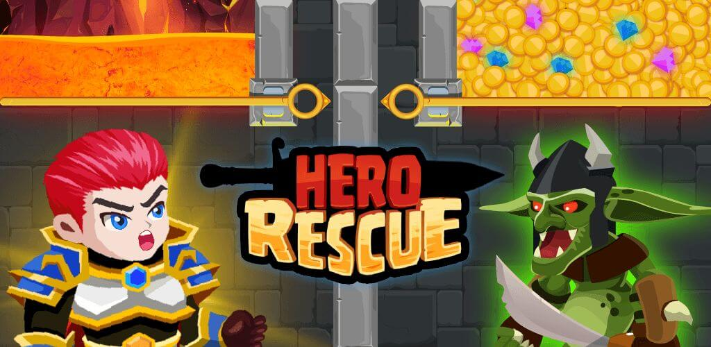 Hero Rescue - знакомый сюжет