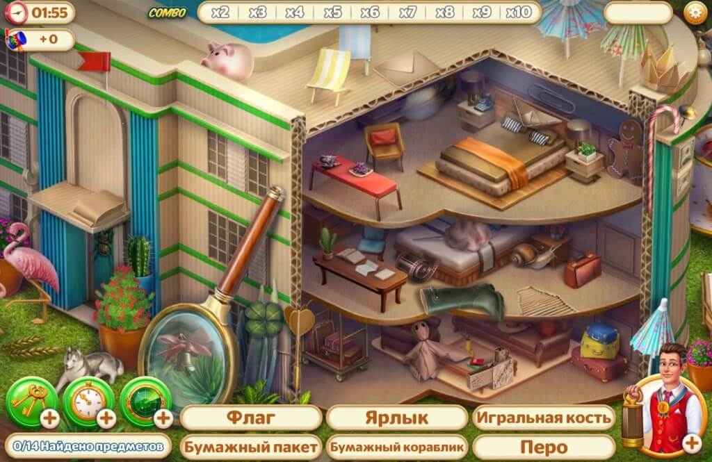 Подробнее об игре Hidden Hotel: Miami Mystery