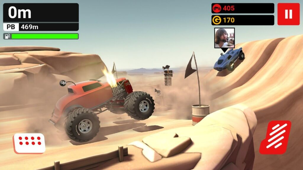 MMX Hill Dash - гонки по бездорожью с реальной физикой